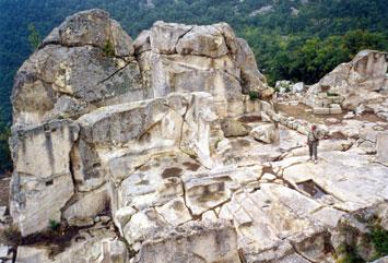 Перперикон древний город в Болгарии